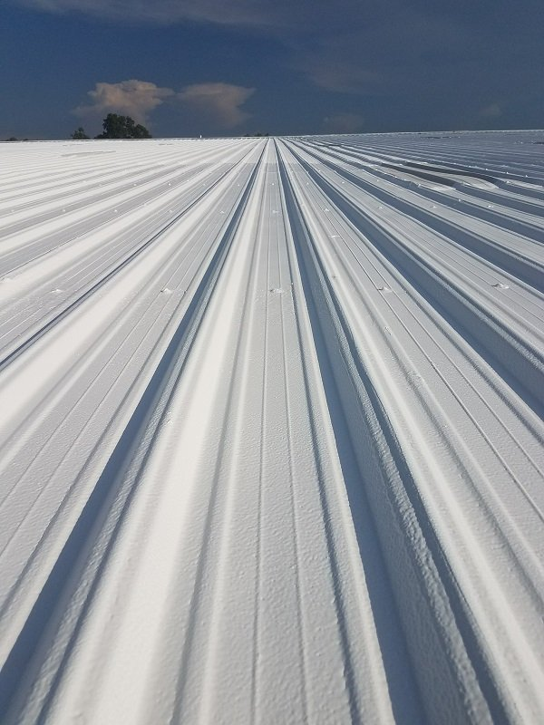 Commercial Metal Roof Restoration In Sparta Tennessee